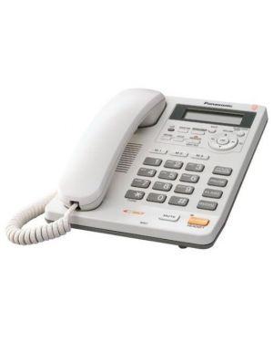 Telefono fisso kx-ts620exw Panasonic KX-TS620EXW 5025232352715 KX-TS620EXW by Panasonic