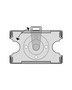 Cf10portabadge aperto rotante 91x57 S311300 by 3L