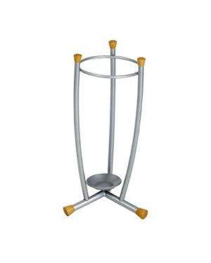 Portaombrelli metallo satinato Alco U702811 4007735028114 U702811 by Alco