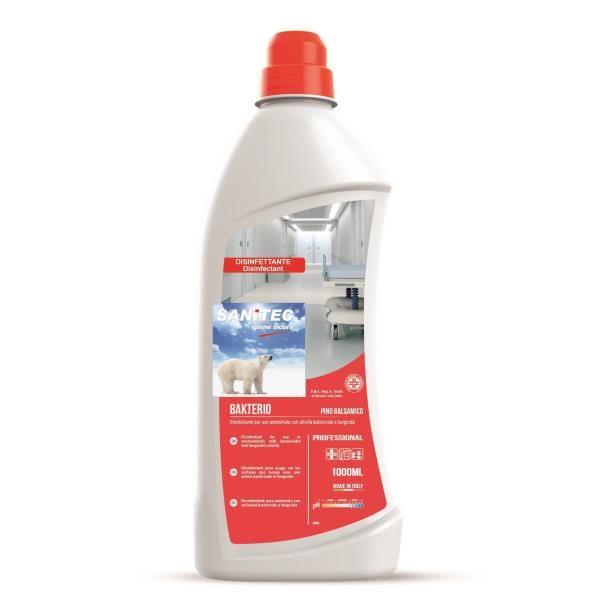 Detergente disinfettante bakterio 1lt pino sanitec 1540N-S 8032680392719 1540N-S by No