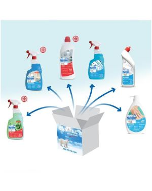 kit detergenza disinfettanti Sanitec 1001-S  1001-S by No