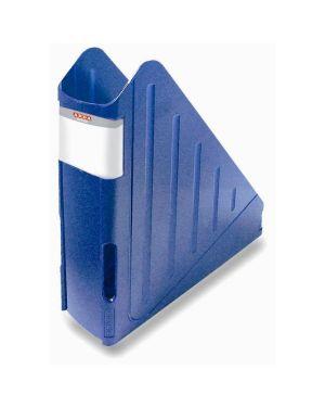Portariviste azzurro trasp CONFEZIONE DA 2 TR4118BLU