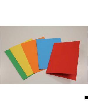 Cf50cartelline color semplice rosso - Color 0205510RO