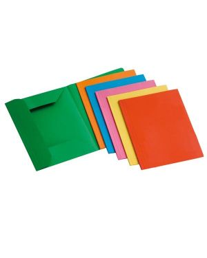 12 cartelline 3 lembi 200gr 25x33cm mix 6 colori brefiocart 205009 8014819009576 205009 by Brefiocart