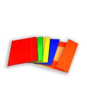 Cf10cartelle 3lembi c/elast arancio - Lucide 0208805AR