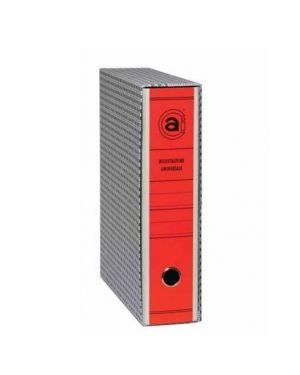 Cf12registratori comm 8cm rosso 0201102R