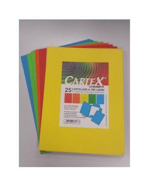 CF25CARTELLINE CARTEX 3L VERDE 611