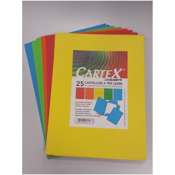 Cartelline cartex 3l verde Blasetti 611 8007758006119 611 by Blasetti