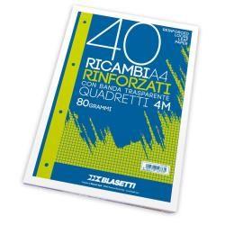 Ricambi a4 quadri 4mm 40ff Blasetti 2333 8007758123335 2333 by Blasetti