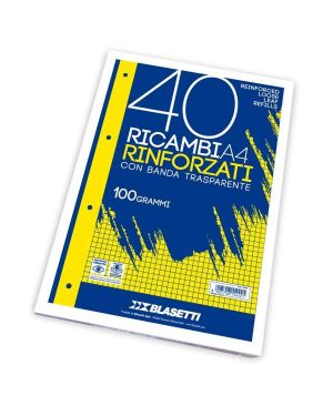 Ricambi a4 righe a 40ff 100gr 5439