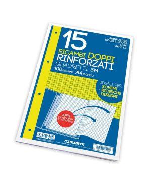 Ricambi rinf doppi a4 4m 15ff 100gr Blasetti 6423A 8007758164239 6423A