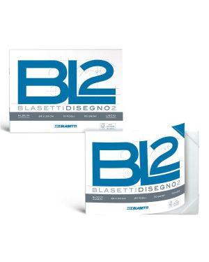 ALBUM BL2 4ANGOLI 24X33 110G RUVIDO 6166 by Blasetti