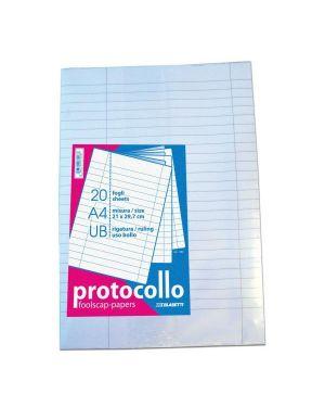 fogli protocollo uso bollo 60g Blasetti 1295 8007758035287 1295 by Blasetti