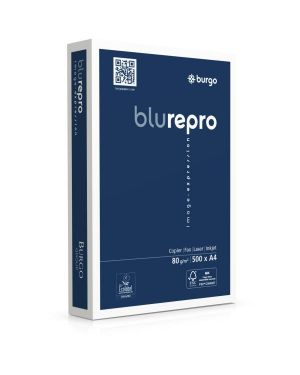 Risme repro80 blu a4 80g - mq Burgo 8131 8021047409511 8131 by Burgo