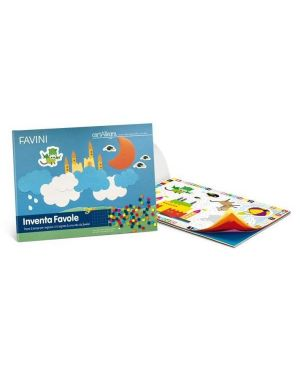 Album cartallegra inventa favole Cartotecnica Favini A16X374 8007057900057 A16X374 by No