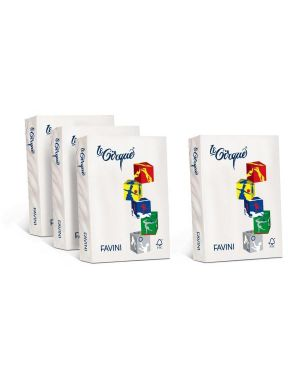 Risma le cirque bianco 100g a4 Cartotecnica Favini A720404S 8025478320926 A720404S