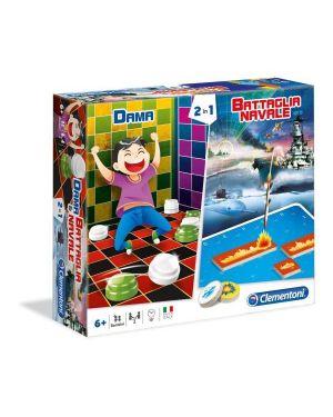 Battaglia navale   dama Clementoni 16083 8005125160839 16083 by No
