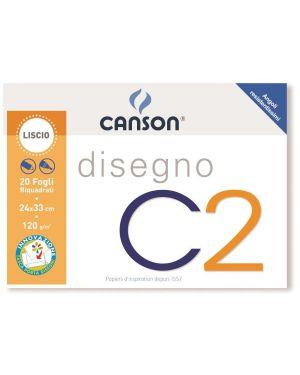 Album c2 4ang riquadrato 24x33 120g Canson 100500448A 8000484900355 100500448A
