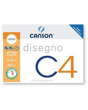 ALBUM C4 4ANG RIQUADRATO 24X33 200G 100500451A by Canson