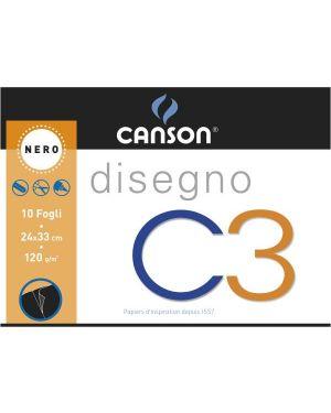 Album c3 collato 24x33cm 120g Canson 100500455A 8000484900508 100500455A
