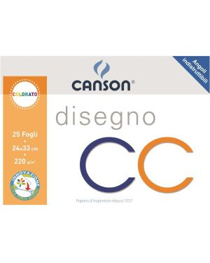 Album cc 4ang monoruvido 24x33 220g Canson 100500456A 8000484900515 100500456A by Canson