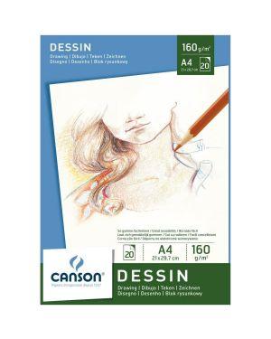 Blocco disegno a4 20fg. 160g Canson 200005779 3148950057792 200005779