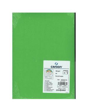 Ff vivaldi a4 185g verde bril Canson 200040172 3148954222684 200040172