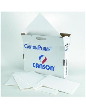 Fg.carton plume cl a3 5mm bianc Canson 205154223 3148954247380 205154223