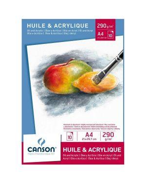 Blocco acrilico 21x29 7 - a4 Canson 200005785 3148950057853 200005785 by Canson