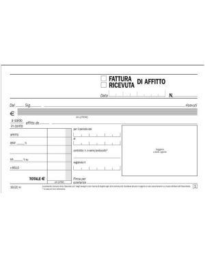 CF5 RICEV-FATT 50/50 AFFITTO RIC DU1612C0000