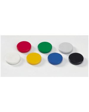 Bottoni magnetici diam32 rosso Dahle R955323 4007885935324 R955323
