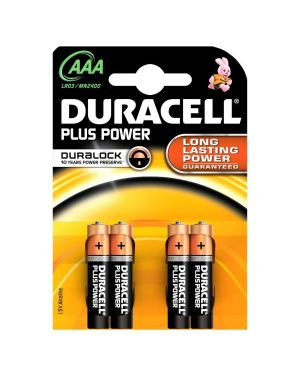 Dur pluspower m - stilo aaa b4 x10 Duracell 81275258 5000394018457 81275258