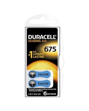 Duracell easytab 675 acustica blu Duracell DU81  DU81