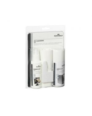 KIT PULIZIA PC CLEAN 5834-00 by Durable