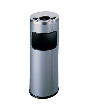 Posacenere 17lt argento met Durable 3332-23 8710968251513 3332-23