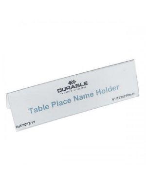 Conf25 segnaposto da tavolo  f.to Durable 8052-19 4005546810522 8052-19 by Durable