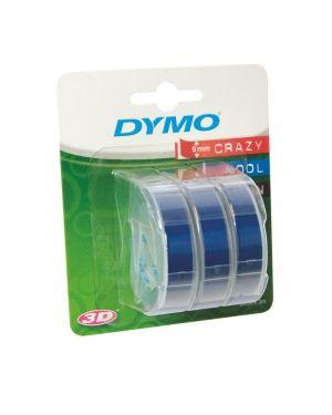 Nastri rilievo 9mmx3m blu Dymo S0847740A 3501170847749 S0847740A