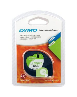 Nastro letr cart 12mmx4m bia Dymo S0721510A 5411313912006 S0721510A by Dymo