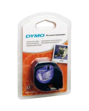 Nastro letratag 12mmx4m trasp Dymo S0721530A 5411313122672 S0721530A by Dymo