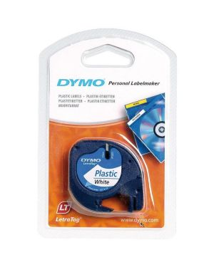 Nastro letratag 12mmx4m bian Dymo S0721610A 5411313912013 S0721610A by Dymo