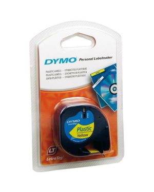 Nastro letratag 12mmx4m gial Dymo S0721620A 5411313912020 S0721620A by Dymo