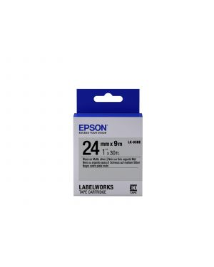 Tape - lk-6sbe matte blk- - matts EPSON - LABELWORKS SUPPLIES S6 C53S656009 8715946611662 C53S656009