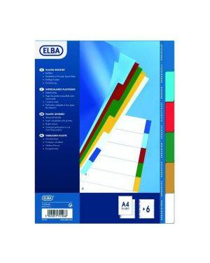 Interc neutro 6 tacche colorate ass Elba 100205079 3045051721068 100205079 by Elba