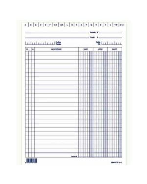 100 schede a 3 colonne blu f.to 21x29,7 EDIPRO E3569BL