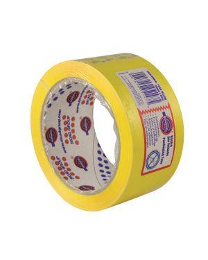 Nastro adesivo 50mm x 66m giallo pp36nn eurocel 6112366 8001814251475 6112366 by Eurocel