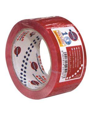 Nastro adesivo 50mm x 66m rosso pp36nn eurocel 6113366 8001814251673 6113366 by Eurocel
