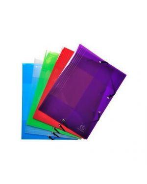 Cf5 cartelline con elast col. ass - Crystal colours 56701E