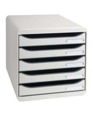 Cassettiera big box plus grigio Exacompta 309740D 9002493421707 309740D by Exacompta