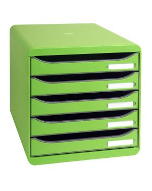 Cassettiera big box plus verde Exacompta 309795D 9002493421783 309795D by Exacompta