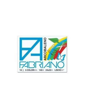 Album arcobaleno 5col ass Fabriano 44312433S  44312433S by Fabriano
